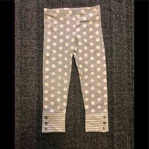 Gap polka dot leggings size 4T